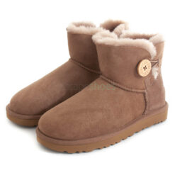 Boots UGG AUSTRALIA W Mini Bailey Button II 1016422 Caribou