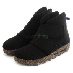 Botins ASPORTUGUESAS Case Tweed Black