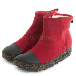 Ankle Boots ASPORTUGUESAS Cosy Tweed Berry