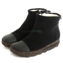 Ankle Boots ASPORTUGUESAS Cosy Tweed Black