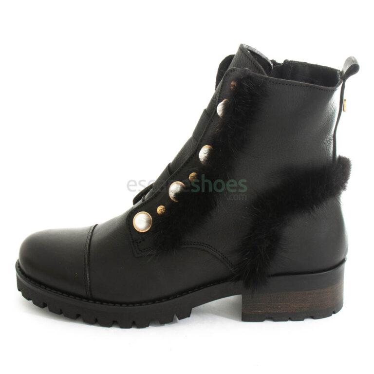 Botines RUIKA Cuero Black 88/23006