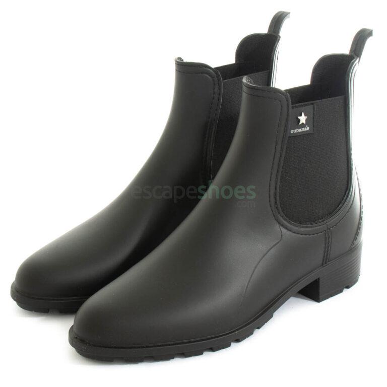 Botas de Agua CUBANAS Rainy 240 Negras