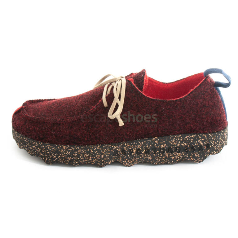 Sapatos ASPORTUGUESAS Chat Double Merlot