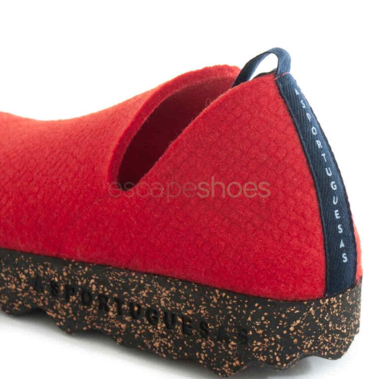 Sapatos ASPORTUGUESAS City Design Red