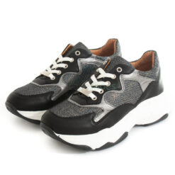 Sneakers RUIKA Leather Black 87/9883-010