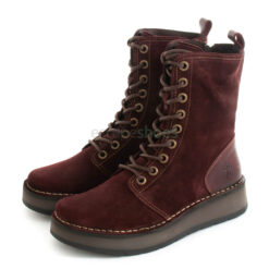 Botas FLY LONDON Rami043 Oil Suede Wine P211043004