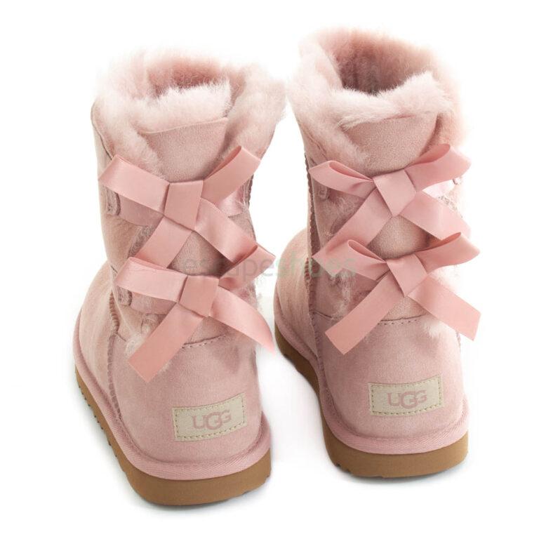 Boots UGG AUSTRALIA Kids Bailey Bow II 1112394K Pink Crystal