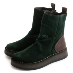 Ankle Boots FLY LONDON Reno053 Oil Suede Green P211053006