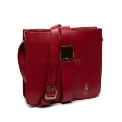 Bolso FLY LONDON Anju709 Colette Dark Rojo P974709001