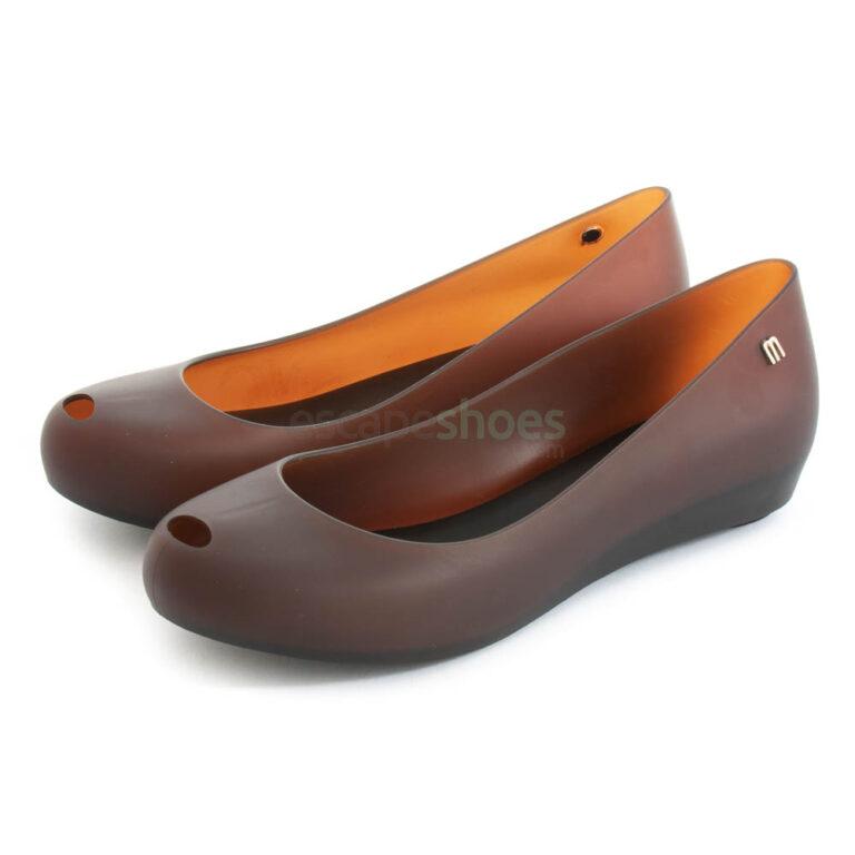 Flat Shoes MELISSA Ultragirl Basic II Brown MW.20.141B