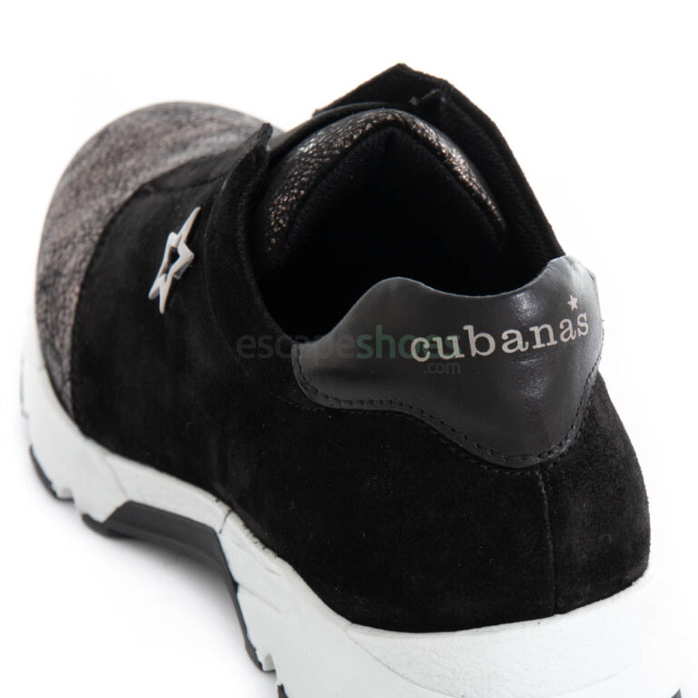 Zapatillas CUBANAS Run 1110 Negras