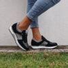 Zapatillas RUIKA Ante Negras 88/23013