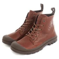 Boots PALLADIUM Pampa LTH Ess Mahogany 76689-819