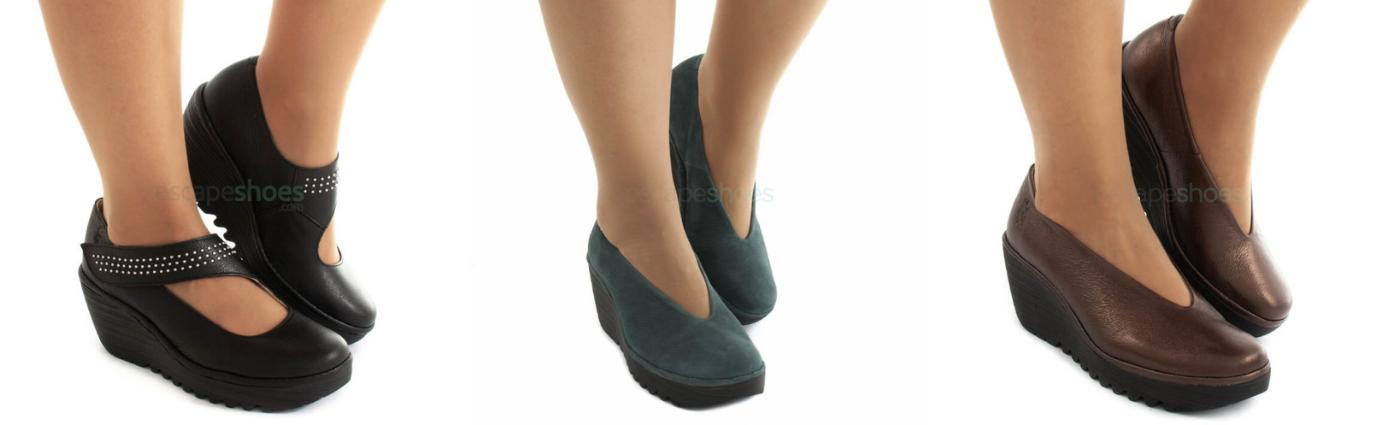 Sapatos Confortáveis para festa Fly London