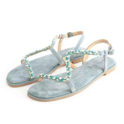 Sandalias ALMA EN PENA Suede Jeans V21412