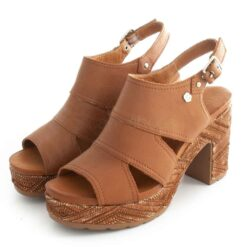 Sandals CARMELA Tacao Leather 67706 Camel