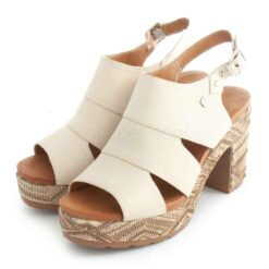 Sandals CARMELA Tacao Leather 67706 Ice