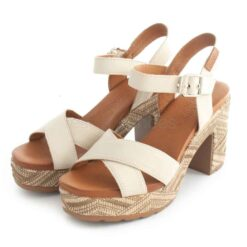 Sandals CARMELA Tacao Leather 67707 Ice