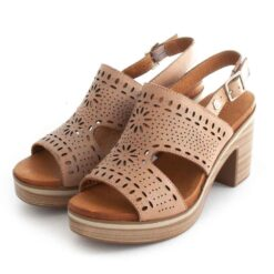 Sandals CARMELA Tacao Leather 67711 Nude