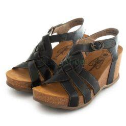 Sandals FLY LONDON Goya776 Mousse Black P144776000