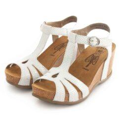 Sandals FLY LONDON Gumy777 Diamond White Silver P144777004