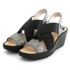 Sandals FLY LONDON Yaji888 Diamond Black P500888016