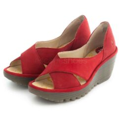 Sandals FLY LONDON Yoma307 Cupido Lipstick Red P501307003
