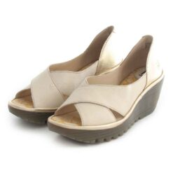 Sandals FLY LONDON Yoma307 Mousse Idra White P501307002