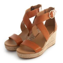 Sandals UGG AUSTRALIA Hulda Tan Leather 1120015