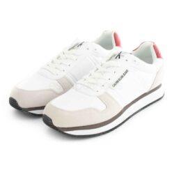 Sapatilhas CALVIN KLEIN Sneaker Laceup Bright White