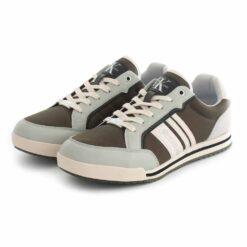 Sapatilhas CALVIN KLEIN Sneaker Laceup Dark Olive