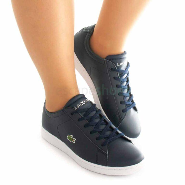 Zapatillas LACOSTE Carnaby Evo 0721 Azul Blanco 41SUJ0001 092