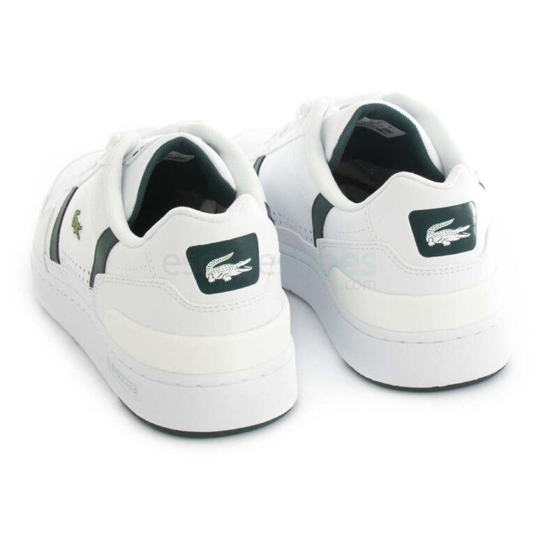Zapatillas LACOSTE T-Clip 0721 2S Blanco Grn 41SNA0023 1R5