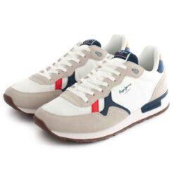 Sneakers PEPE JEANS Britt Man Basic White