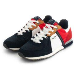 Sneakers PEPE JEANS Tinket Zero Navy PMS30725 595