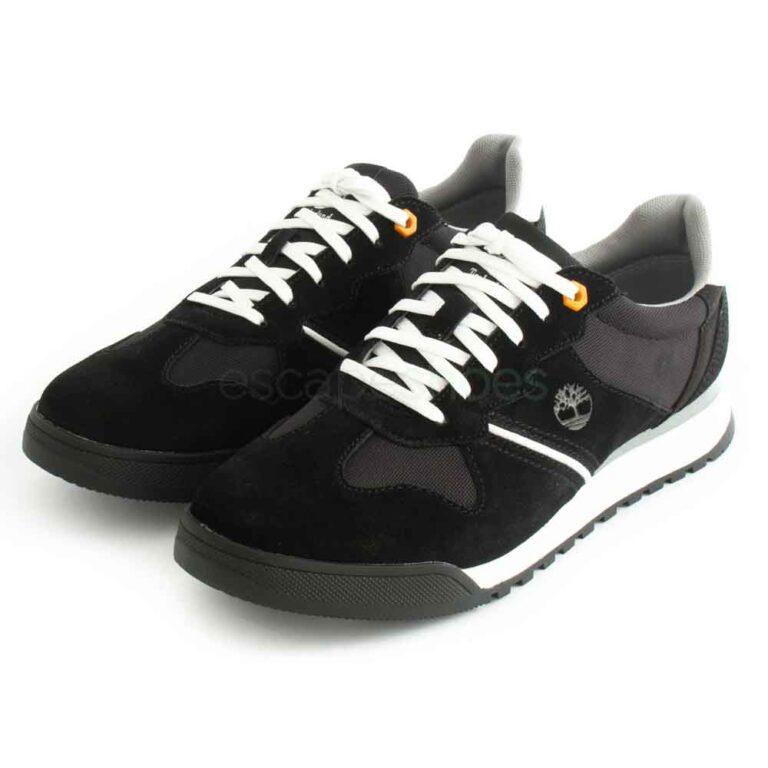 Sapatilhas TIMBERLAND Miami Coast Leather Sneaker Jet Black TB 0A249X