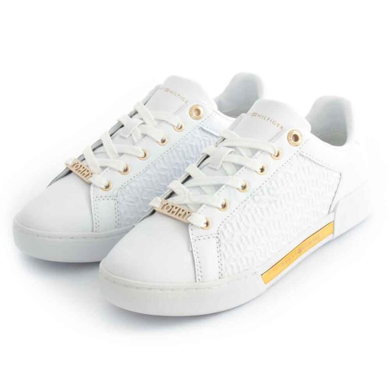 Sapatilhas TOMMY HILFIGER Elevated Sneaker White
