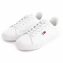 Sapatilhas TOMMY HILFIGER Jeans Sneaker White