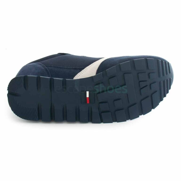 Sneakers TOMMY HILFIGER Retro Runner Mix Twilight Navy