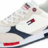 Sneakers TOMMY HILFIGER Retro Runner Mix White