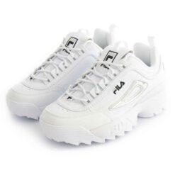 Tenis FILA Disruptor M White Silver 1011237-93N
