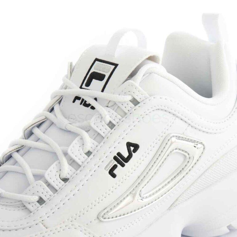 Sneakers FILA Disruptor M White Silver 1011237-93N