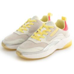 Tenis GANT Calinne Sneaker White Yellow 22531550-G277