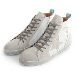 Sneakers RUIKA Leather White Silver 35/5098
