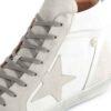 Sapatilhas RUIKA Pele Branco Prata 35/5098