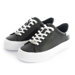 Sneakers CALVIN KLEIN Flatform LaceUp Black