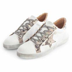 Sneakers RUIKA Leather White Snake 35/4952