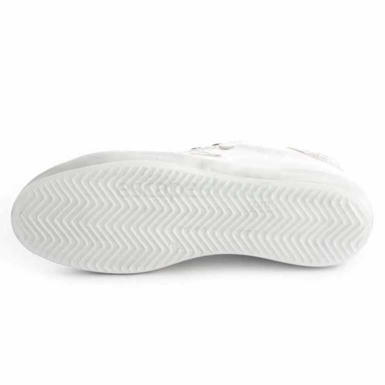 Sapatilhas RUIKA Pele Branco Cobra 35/4952