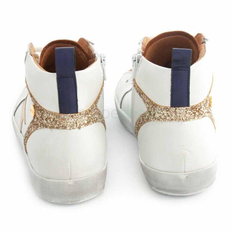 Sneakers RUIKA Leather White Gold 35/5098