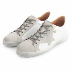Sneakers RUIKA Leather White Silver 35/4952